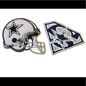Dallas Cowboys Patches Iron on Football NFL DIY